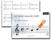 60 Dictées musicales faciles (solutions)