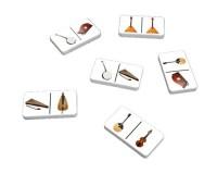 Jeu de dominos : Instruments à cordes