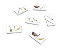 Jeu de dominos : Instruments à vent