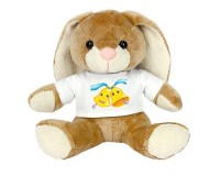 Peluche Lapin : 2 cloches