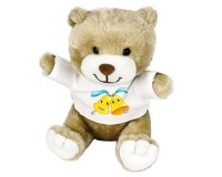 Peluche Ours : 2 cloches