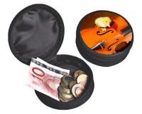 Porte-monnaie Caneton sur un violon