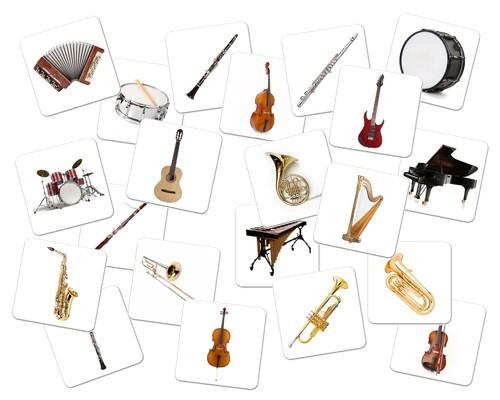 Mes premiers instruments (images)
