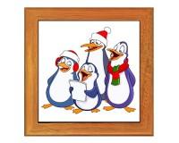 Dessous de plat : Chorale de pingouins