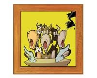 Dessous de plat : Chorale de vaches