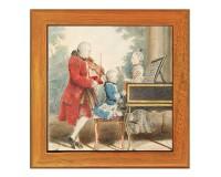 Dessous de plat : Mozart père et ses enfants