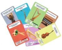 Jeu des 7 familles : Les instruments de musique - Cartes standards