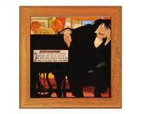 Dessous de plat : Le musicien par William Blamire Young