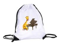Sac de gym : Girafe pianiste