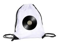 Sac de gym : Disque Music Record
