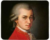 Tapis de souris 23 cm x 19 cm : Mozart