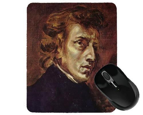 Tapis de souris 23 cm x 19 cm : Chopin