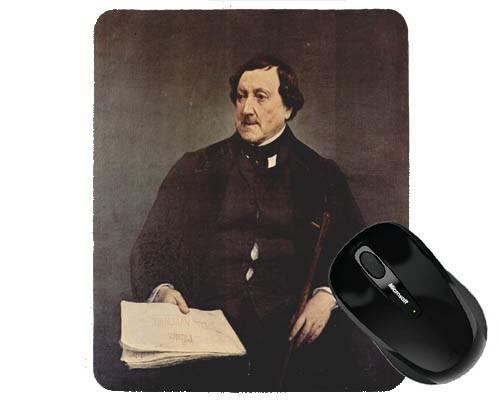 Tapis de souris 23 cm x 19 cm : Rossini