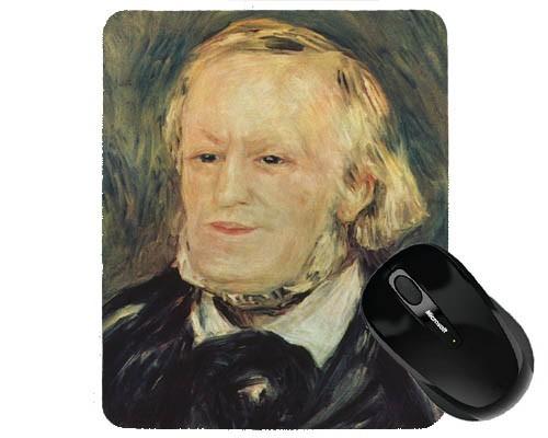 Tapis de souris 23 cm x 19 cm : Wagner par Renoir