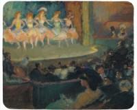 Tapis de souris 23 cm x 19 cm : Café Concert par Ricard Canals