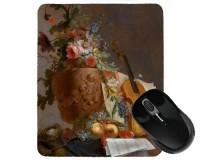 Tapis de souris 23 cm x 19 cm : Fleurs et violon par Bachelier