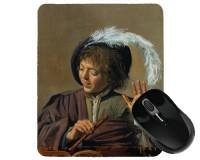 Tapis de souris 23 cm x 19 cm : Garçon avec flûte par Frans Hals