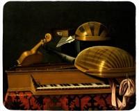 Tapis de souris 23 cm x 19 cm : Instruments de musique et livres par Bettera