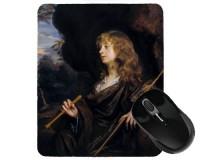 Tapis de souris 23 cm x 19 cm : Adolescent en berger par Sir Peter Lely