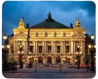 Tapis de souris 23 cm x 19 cm : Opéra Garnier à Paris