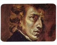 Tapis de souris 27 cm x 20 cm : Chopin