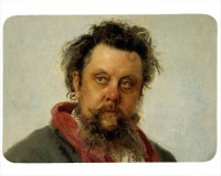 Tapis de souris 27 cm x 20 cm : Moussorgski