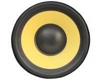 Tapis de souris rond : Haut-parleur jaune