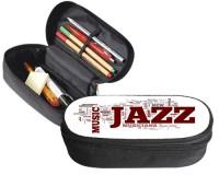 Trousse 23 cm x 9 cm : Mots sur le jazz
