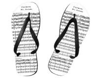 Tongs Partition de Carmen de Bizet
