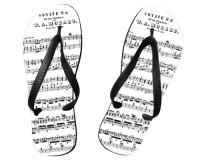 Tongs Partition de la sonate K331 de Mozart