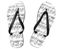 Tongs Partition du nocturne op.9 n°2 de Chopin