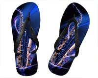 Tongs Saxophone bleu