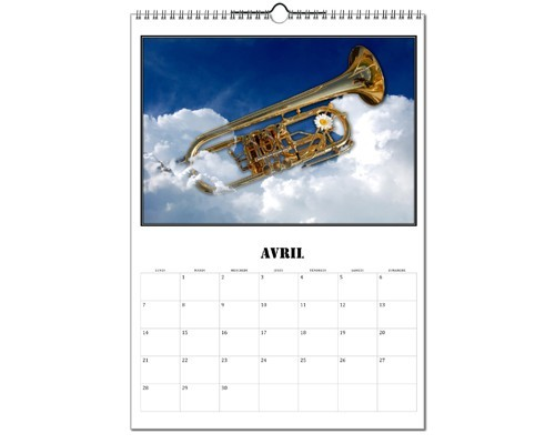 Calendrier Images d'instruments