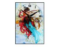 Horloge Harpiste chinoise