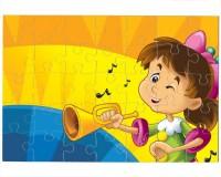 Puzzle Fille trompettiste