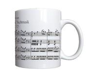 Mug Partition d'Une petite musique de nuit de Mozart