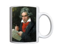 Mug Beethoven : Portrait par Joseph Karl Stieler
