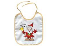Bavoir Père Noël avec une cloche