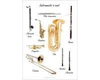 Poster Instruments à vent