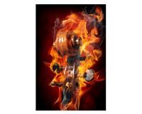 Poster Volute en feu