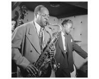 Poster de Coleman Hawkins et Miles Davis