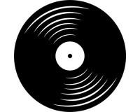 Sticker Disque vinyle