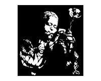 Sticker Dizzy Gillespie