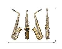 Aimant 4 vues du saxophone