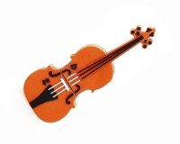 Clé USB en forme de violon