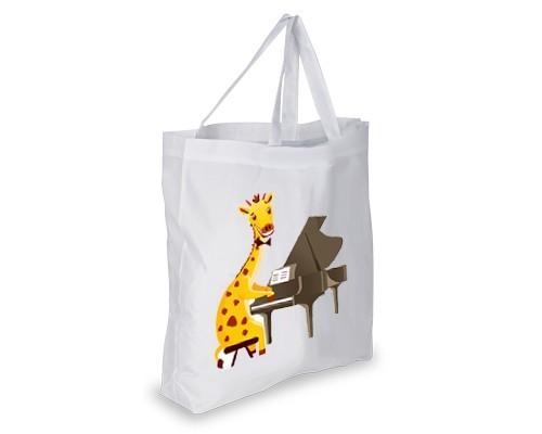 Cabas Girafe pianiste