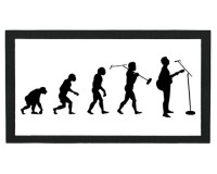 Tapis de bar : Evolution du chanteur