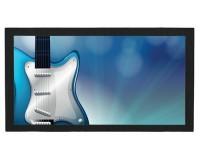 Tapis de bar : Guitare bleue