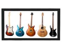 Tapis de bar : 5 guitares
