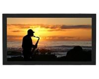 Tapis de bar : Saxophoniste sur une plage